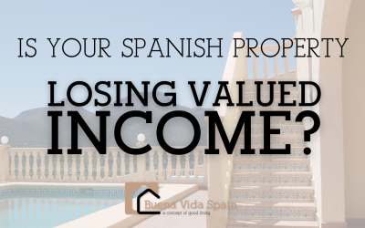 IS YOUR SPANISH PROPERTY LOSING INCOME?